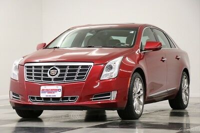 Cadillac XTS AWD Premium Leather Sunroof GPS Crystal Red Used XTS4 Heated Cooled Seats Navigation Bluetooth CUE 4WD 14 15 2014 13