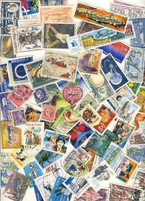 Timbres /// Lot De 200 Timbres Differents France Tout Formats