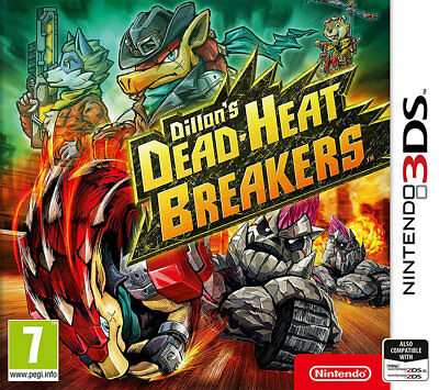 Dillon's Dead-Heat Breakers (3DS)  NEW AND SEALED - IN STOCK - QUICK DISPATCH