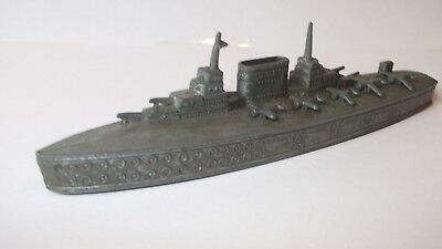 RARE Chad Valley Saratoga class aircraft carrier 6 inch Made from American molds