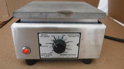 Sybron Thermolyne Model HP-A1915B Type 1900 Hot Plate Hotplate 374 B 750 Watts ^