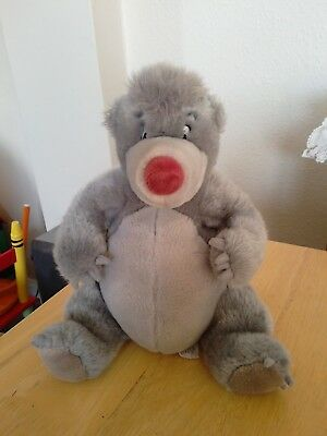 Disney Jungle Book Baloo plush soft toy from Disneyland Paris