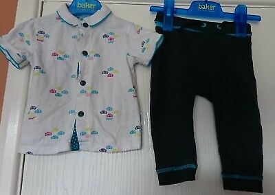 Ted baker boys polo and joggers set age 12-18 months