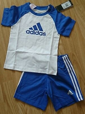 Adidas shorts and t shirt age 18-24 months NEW