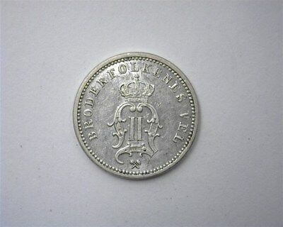 Norway 1898 Silver 10 Ore  Near Choice Uncirculated