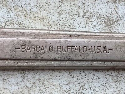 barcalo buffalo USA spanner vintage car jeep