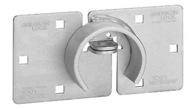 American Lock A801 Hasp Fits Hidden Shackle Round Body Puck Locks