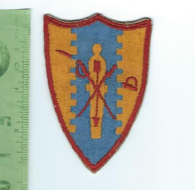 WWII 4th Cavalry Group  patch