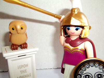 Playmobil,ATHENA,GREEK GODDESS OF WISDOM,WAR,Custom Made