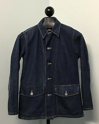 Original WWII US Army M1940 Denim Shirt **SUPER NICE**