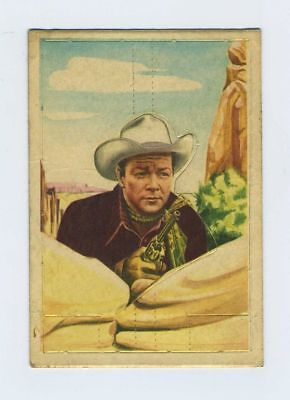 Vintage Post Cereal Roy Rogers Western Pop-Out Card Trade Trading Premium bv2906