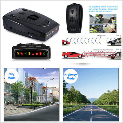 Anti Radar Car Auto Laser Radar Detector Upgraded Version Voice Alarm System Kit