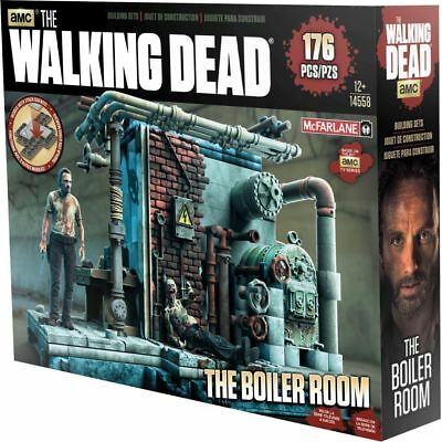 THE WALKING DEAD Toys Building Sets Boiler Room Assembly Kit by McFarlane (12+)