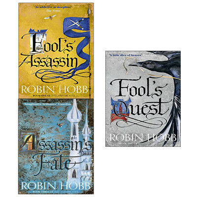 Fitz and the Fool Collection 2 Books Set Fools Assassin, Fools Quest Robin Hobb