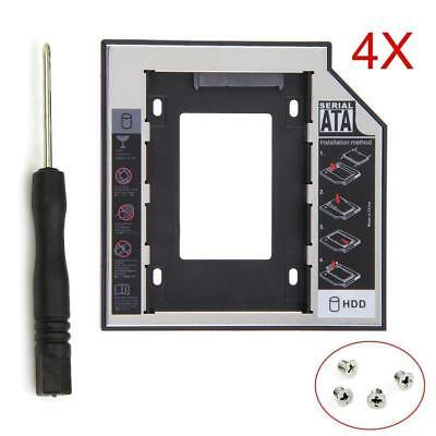 HOT SATAII HDD SSD Hard Drive Caddy for 12.7mm Universal CD / DVD-ROM Optical TS