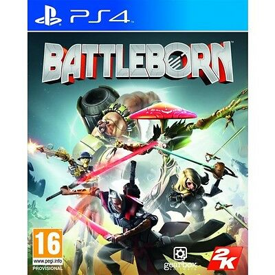 Battleborn (PS4) BRAND NEW AND SEALED - IN STOCK - QUICK DISPATCH