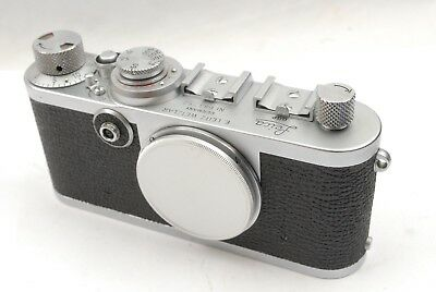 Leica 1f Red Dial, c.1955. Excellent condition, working well. With body cap