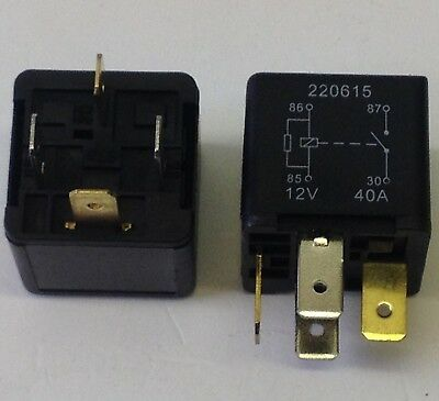 X2 MULTI-PURPOSE 4 Pin Relay replaces Yellow Land Rover Def,Disco ...