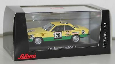 "Schuco 1/43 Opel Commodore B GS/E Coupé Rallye ""Tour de Corse 1974"" 450277200"