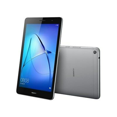"""Huawei MediaPad T3 8 Quad Core 8"""" IPS Android 7.0 Grey 16GB Tablet, Bluetooth"""