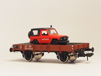Marklin Scale gauge I Flat car with Mercedes G Gelandewagen 1:32 DB