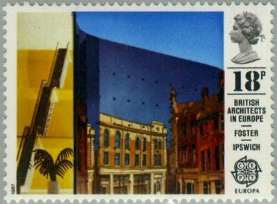 GREAT BRITAIN -1987- British Architects in Europe - MNH Stamp - Sc. #1176