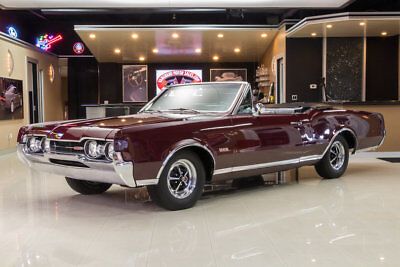 Oldsmobile 442 Convertible Fully Restored 442! #s Matching Oldsmobile 400ci V8, TH400 Automatic, PS, PB