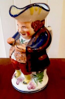 Allertons Toby Jug The Snuff Taker Large 10 Inches Tall