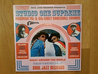 SOUL JAZZ RECORDS Studio One Supreme Early Dancehall 3LP