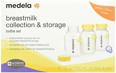 Medela Breast Milk Collection and Storage Bottles, 5 Ounce, 6 Count