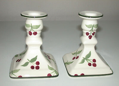 Laura Ashley  Pair Of Candle Sticks