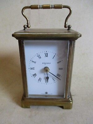French Brass Carriage Clock Case For Parts