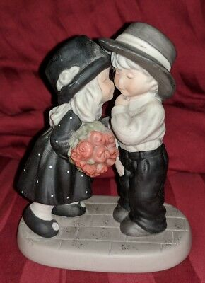 Enesco Life's Best Gifts are Love and Laughter Kim Anderson Figurine 2000 RARE