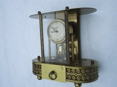 Vintage Schmid 8 Day Clock Musical Jewellery Box. Spares Or Repair