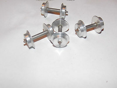 Lot Of 4 New Old Stock Vintage American Flyer S Gauge Wheels Both Side Metal Nos