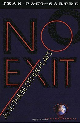 No Exit; and Three Other Plays (Vintage International) by Jean-Paul Sartre - Bra