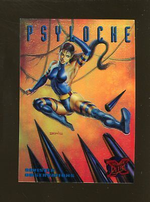1995 Fleer Ultra X-Men S&G Promo Psyloche RARE!