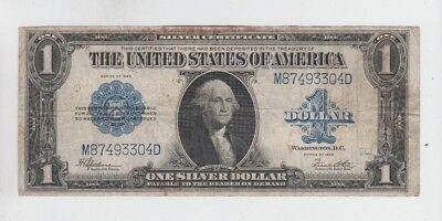 Silver Certificate $1 1923  fine stains