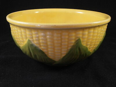 Vtg Shawnee Art Pottery Corn King Mixing Serving Bowl #8