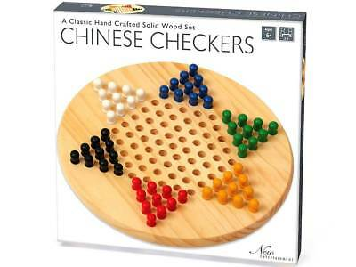 Chinese Checkers - Solid Wooden Set