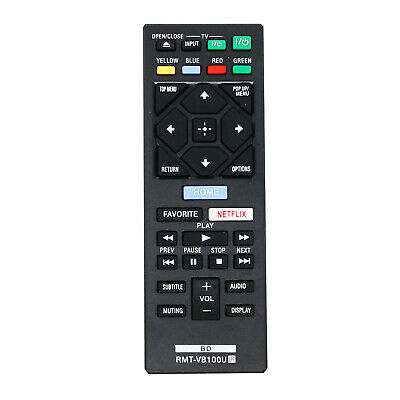 Replacement Remote Control for Sony BDP S3500, BDPS3500 Blu-ray Disc Player