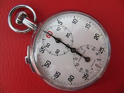 Vintage Excelsior Park Swiss Made Stopwatch - Mechanical - Beautiful
