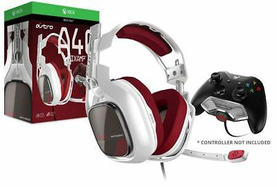 ASTRO Gaming A40 TR + MixAmp M80 - White/Red (Xbox One)