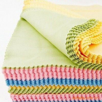 10x Microfiber Cleaner Camera Lens Glasses Sunglasses Cleaning Cloths Hot Sale