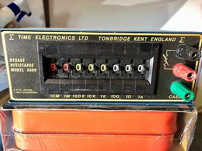 Time Electronics Decade Resistance Box 8000