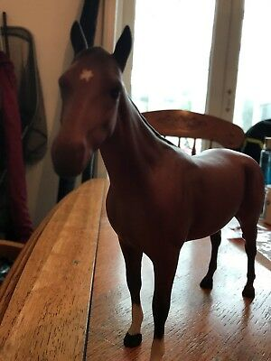 BESWICK HORSE BOIS ROUSSEL RACEHORSE MODEL No. 701  BROWN MATT FINISH