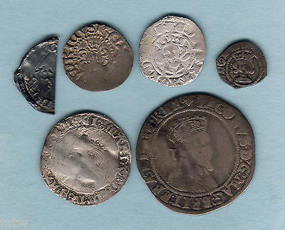 G.B. Collection of Early Hammered Issues. Incs James 1, Mary, Edward 1, Henry 11