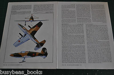 1973 magazine article, Bereznyak-Isaev B1 WWII Russian rocket planes info photos