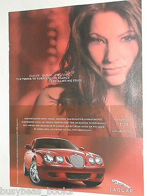 2005 Jaguar advertisement, JAGUAR S-Type, red car