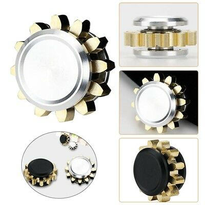 Anti Anxiety Pocket Toy Mini Alloy Gear Hand Finger Spinner Fidget Spinning Toys